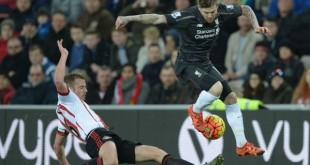 Sunderland 0 Liverpool 1