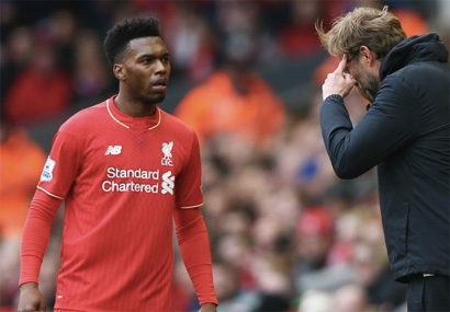 Daniel Sturridge Unhappy At Liverpool - Says He's Being Played Out Of Position