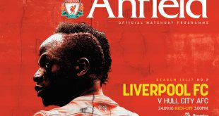 Liverpool v Hull programme