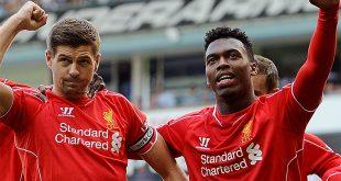 Steven Gerrard & Daniel Sturridge