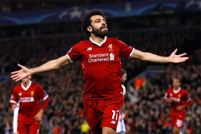 Liverpool's Mohamed Salah flattered by Lionel Messi comparison