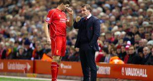 Steven Gerrard & Brendan Rodgers