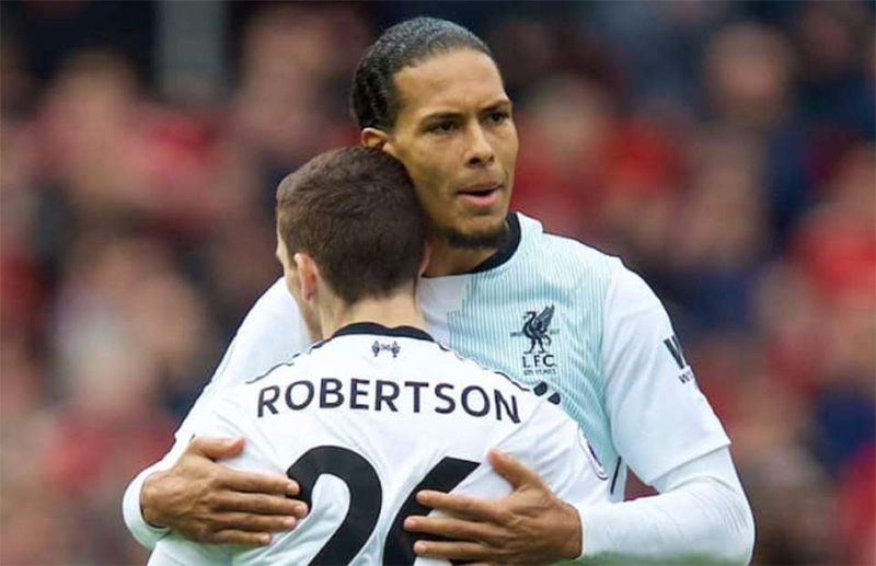 Van Dijk believes Robertson has what it takes to be captain