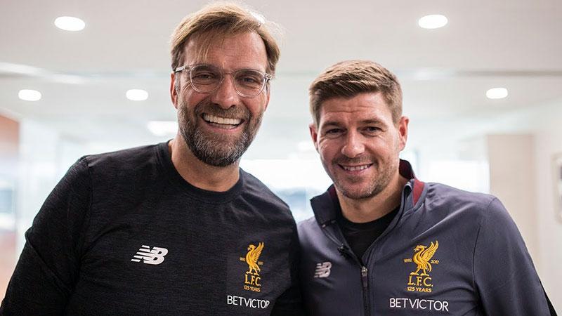 Jürgen Klopp & Steven Gerrard